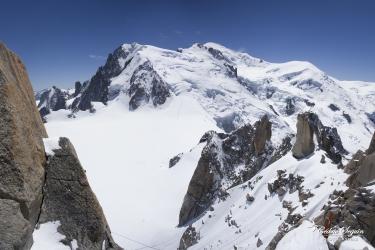 Mont-Blanc depuis l'Aiguille du Midi (74)