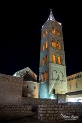 Clocher de la cathédrale Saint Anastasia - Zadar (Croatie)