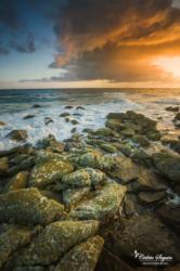 Lever de soleil sur l'ile de Batz (29)